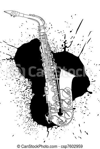 saxophone - csp7602959
