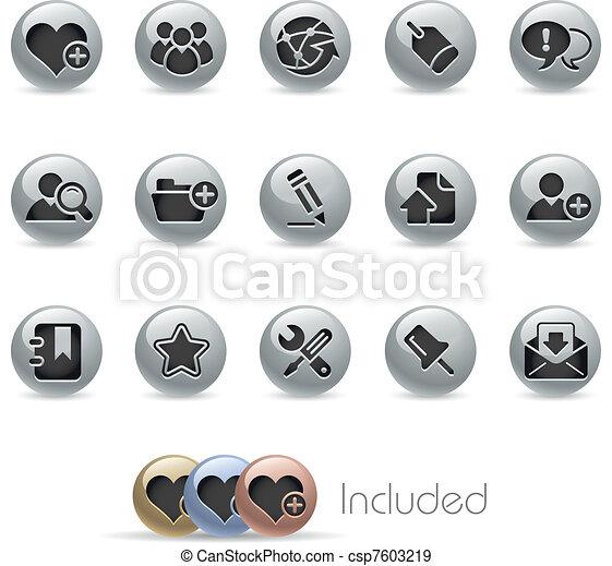 Blog & Internet / Metallic - csp7603219