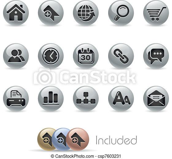 Web Site & Internet / Metallic - csp7603231