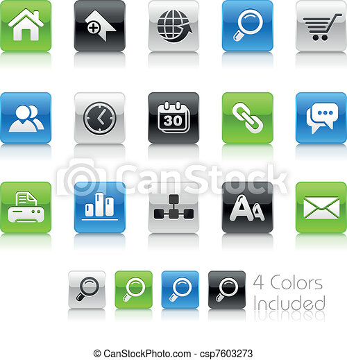 Web Site & Internet / Clean - csp7603273