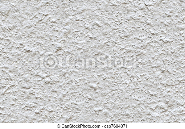 White roughcast texture that perfectly loop horizontally and vertically - csp7604071