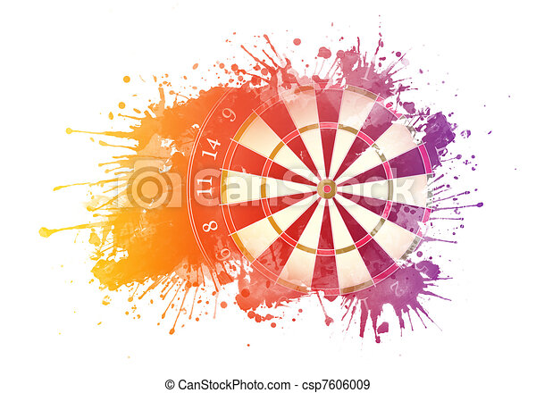 Darts Board - csp7606009