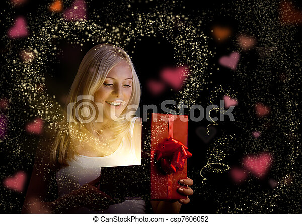 Valentine's day gift - csp7606052