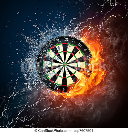 Darts Board - csp7607501