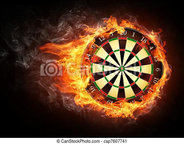 Darts Board - csp7607741
