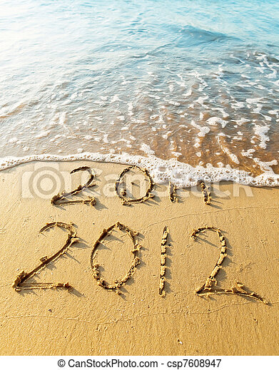 New Year 2012 - csp7608947