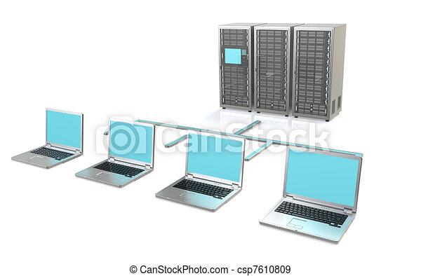 Server Network - csp7610809
