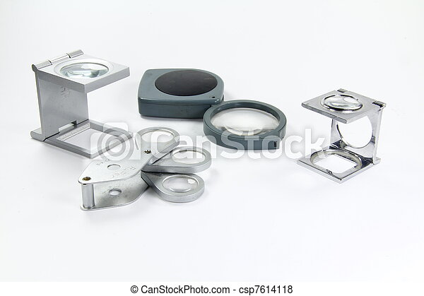 set of different magnifiers - csp7614118