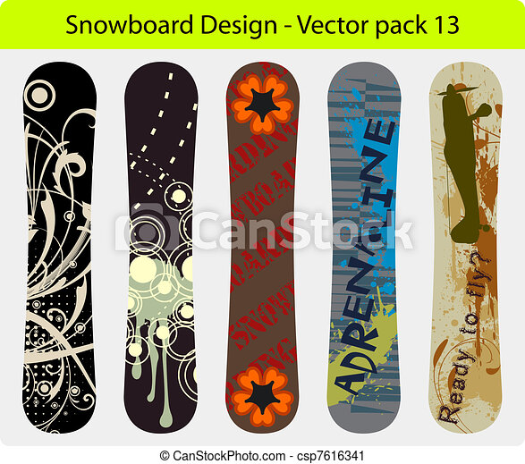 snowboard design pack 13 - csp7616341