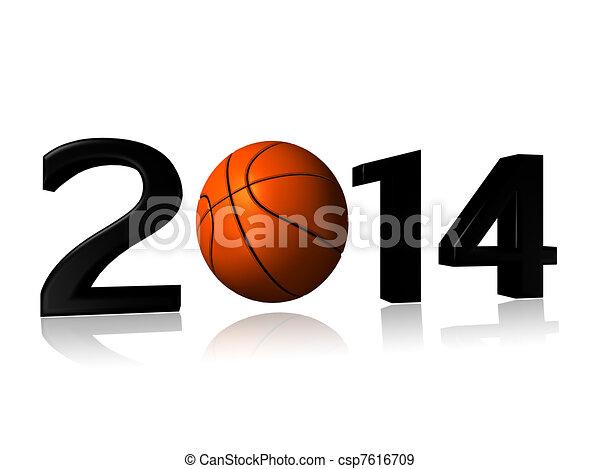 Big 2014 basket design - csp7616709