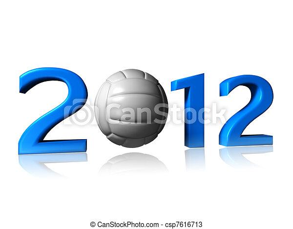 2012 volley design - csp7616713