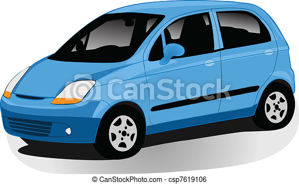 automobile illustration  - csp7619106