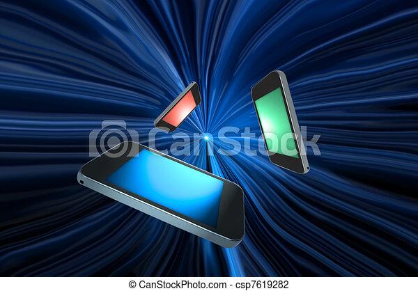 Telecommunications concept. - csp7619282