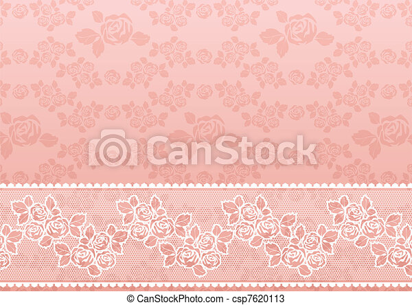 Lace Rose - csp7620113