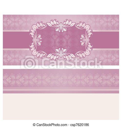 invitation-Feast, background, templ - csp7620186
