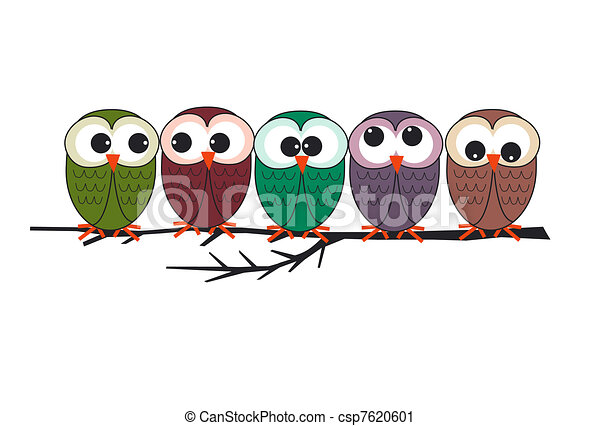 owls  - csp7620601