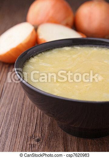onion soup - csp7620983