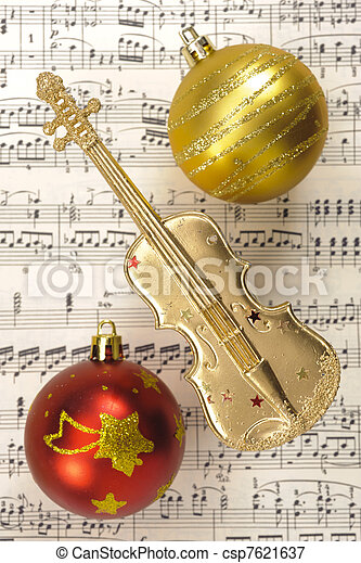 Christmas decoration - csp7621637