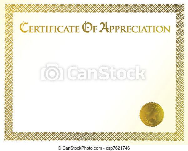 certificate of achievement - csp7621746