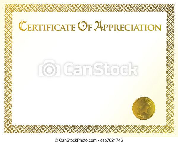 certificate of achievement - csp7621746