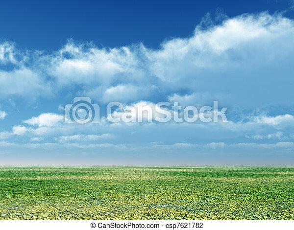 Spring scenery - csp7621782