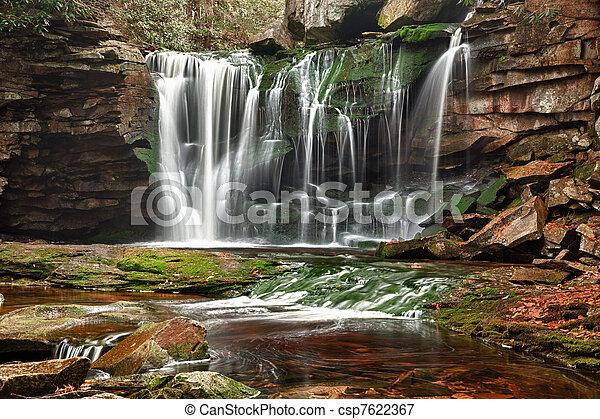 Elakala Falls in West Virginia - csp7622367