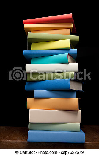 studieren, bildung, buecher - csp7622679