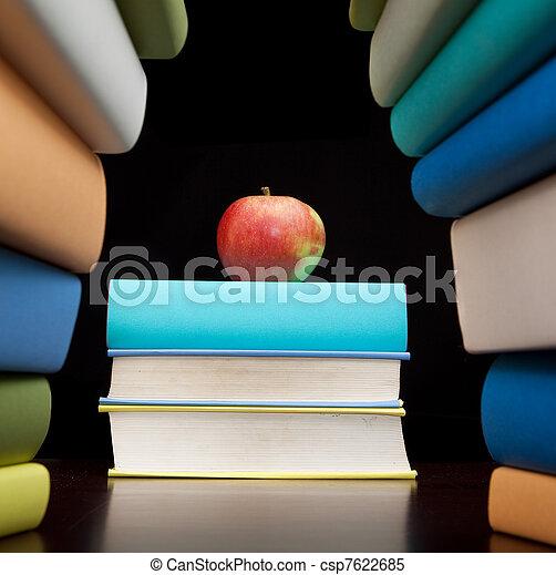 education study books  - csp7622685