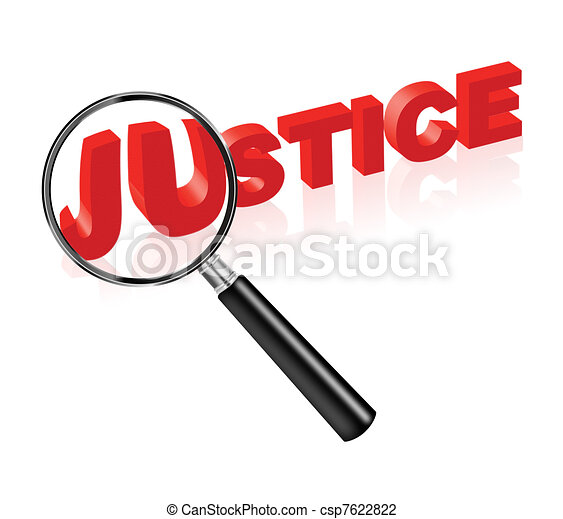 justice law and order - csp7622822