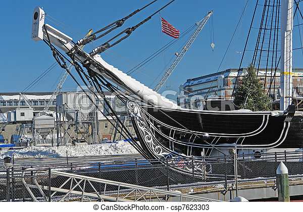 USS Constitution detail - csp7623303