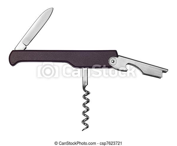sommelier knife - csp7623721