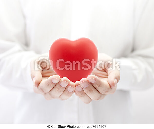 Health insurance or love concept - csp7624507