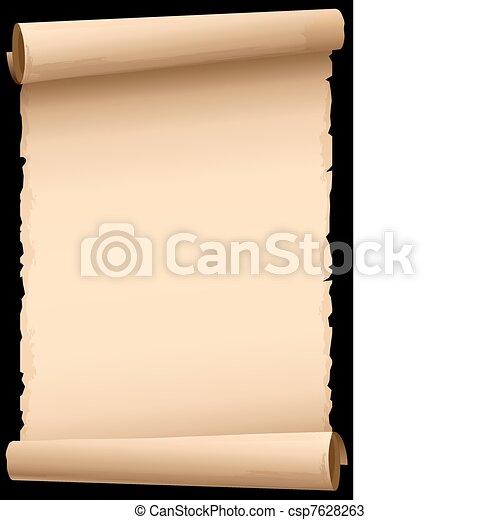 old paper - csp7628263