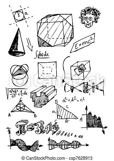math symbols - csp7628913