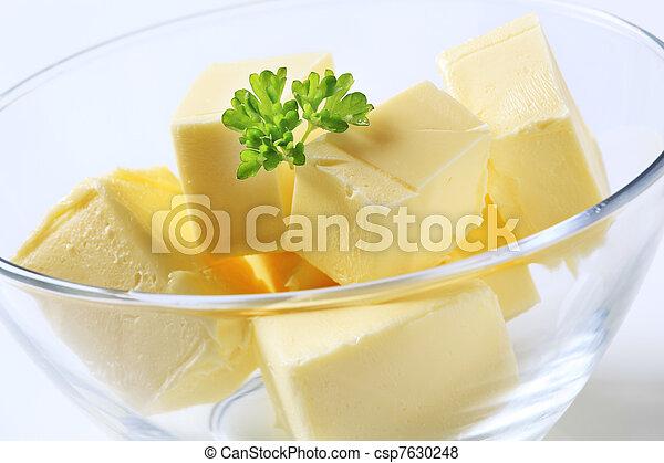 Fresh butter - csp7630248
