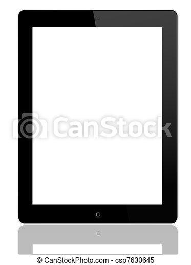 Tablet PC - IPAD 2 - csp7630645