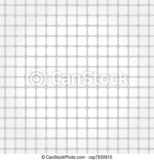 Monochrome vector pattern - grating - csp7630910
