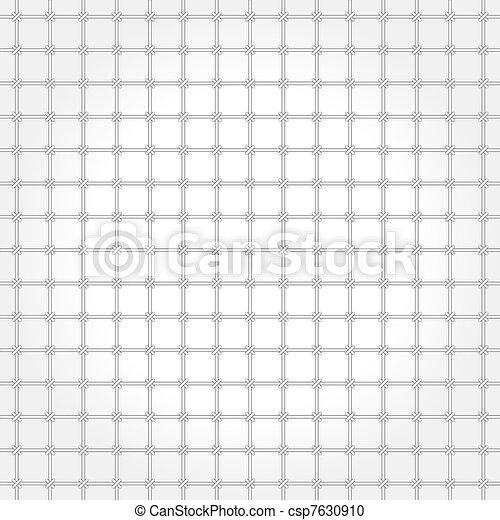 Monochrome vector pattern - grating - csp7630910