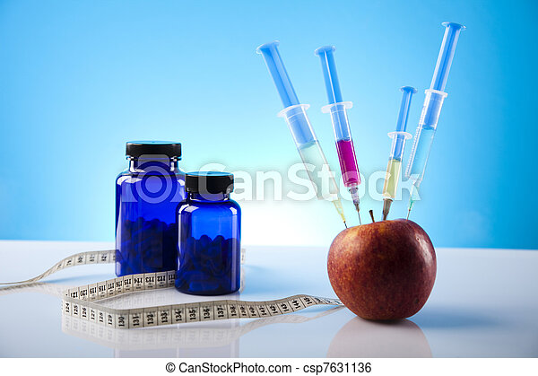 Body building, supplements - csp7631136