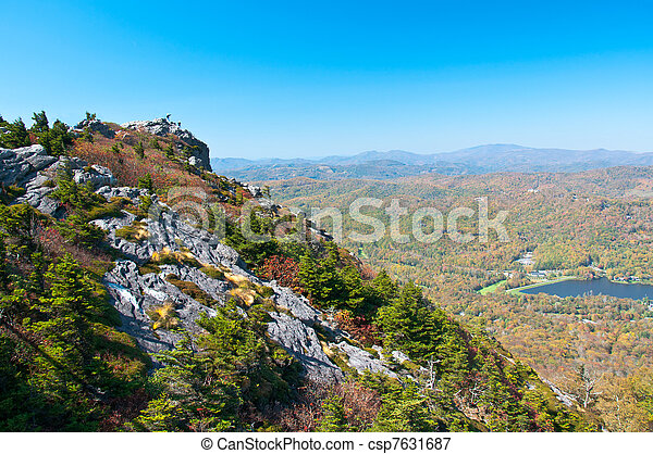 Grandfather Mountain, North Carolina, USA - csp7631687