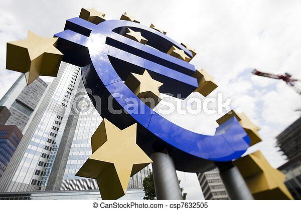 European central bank    - csp7632505