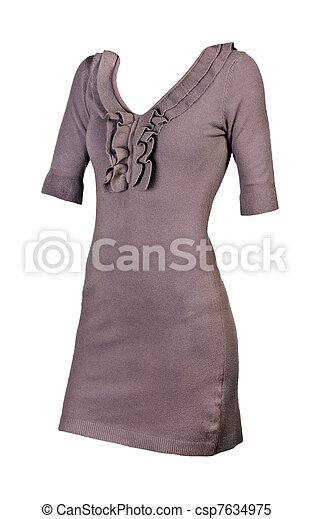Women's elegant dress - csp7634975