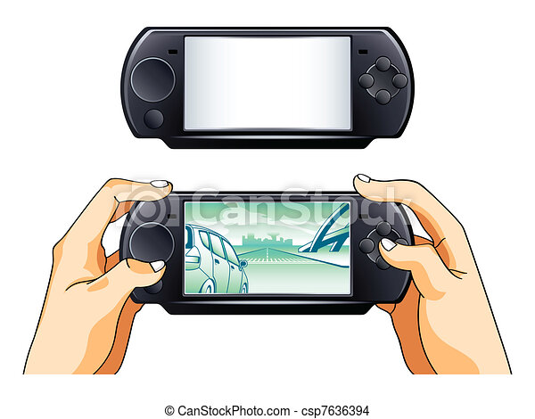 Portable gamepad - csp7636394