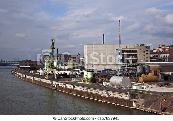 industrial building - csp7637945