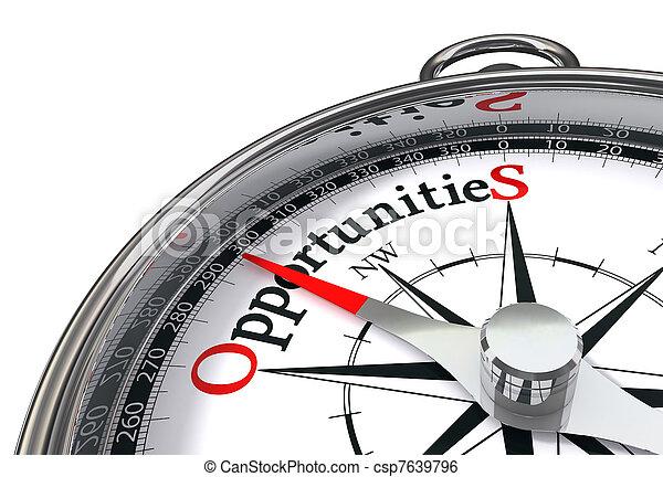 opportunities concpept compass - csp7639796