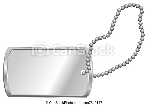 Dog Tag - csp7640147