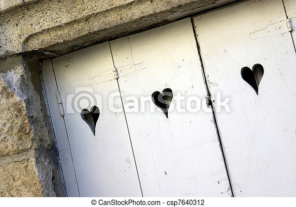 Love door - csp7640312