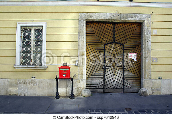 Typical street of Budapest - csp7640946