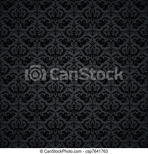Damask Background - csp7641763