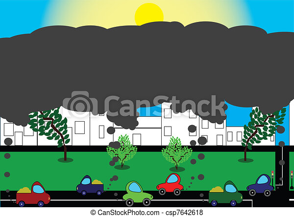 pollution of environment  - csp7642618